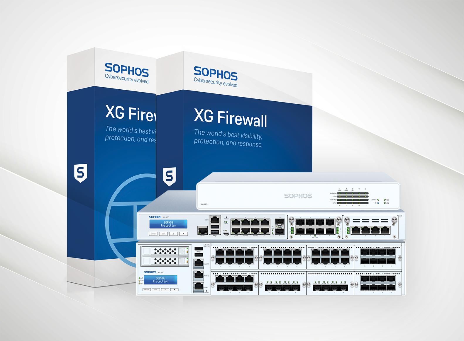 Sophos XG. Schaffen Sie eine sicheren Workspace.
