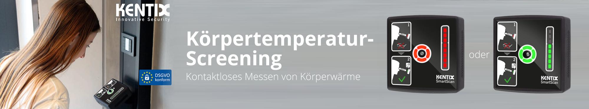 Fieberscreening mit Kentix SmartXcan